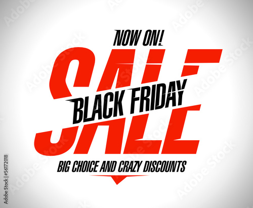 Black friday sale design.