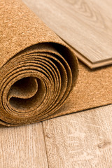 cork roll and laminate