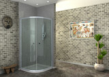 rendering of walk-in shower