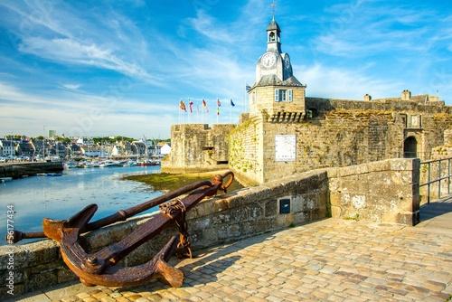 Plexiglas Vestingwerk Concarneau en Bretagne, France