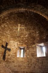 Navata chiesa di Santo Stefano,Assisi.