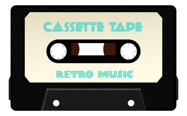 Detailed Cassette Tape Vector