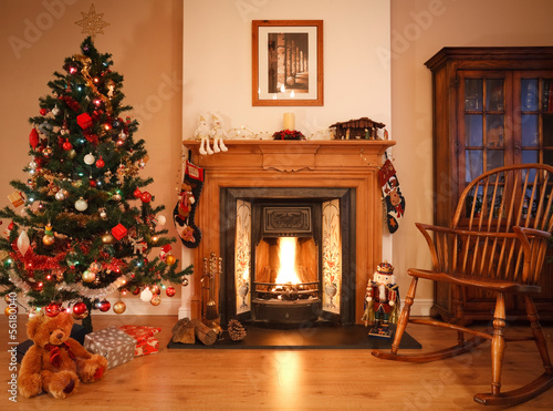 Christmas living room - 56180040
