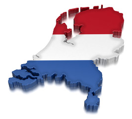 Netherlands (clipping path included)