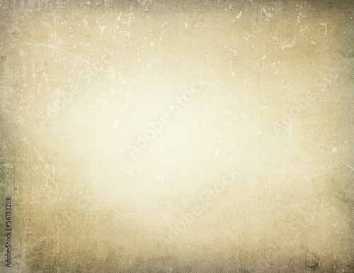 canvas print picture Brown grungy wall