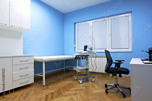 doctor's consulting room interior