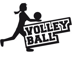 Volleyball Logo Design