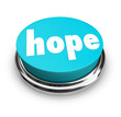 Hope Word Button Faith Spirituality Religion