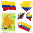 national colours of Colombia