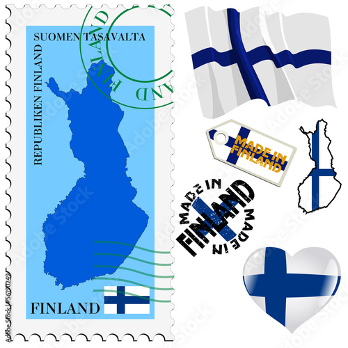 national colours of Finland