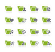 Folder Icons - 2 of 2 -- Natura Series