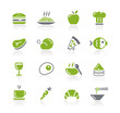 Food Icons - 1 of 2 -- Natura Series