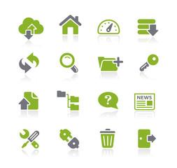 Hosting Icons -- Natura Series