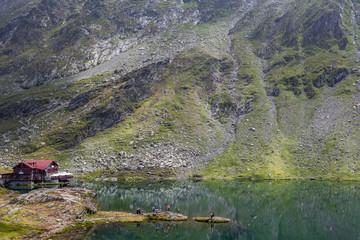 lac Bâlea, roumanie,