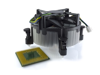 CPU and cooler