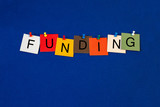 Funding - Business and Economics sign