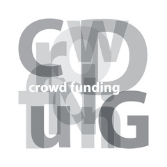 Vector Crowdfunding. Broken text