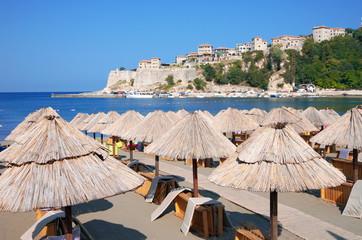 Ulcinj: Beach And Old Town, Montenegro