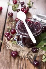 Portion of Cherry Jam