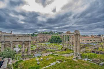 Fori Imperiali, Rome.