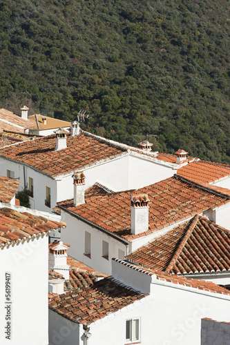 Rooftops in Andalusian village