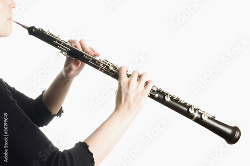 Musical instruments - oboe hands