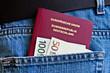 Reisepass und Euro