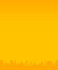 Orange City Background