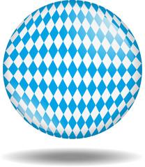 Bayern Kugel 3D