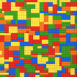 Toy bricks color background