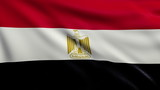 Flag of Egypt looping