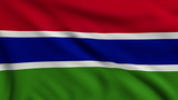 Flag of Gambia looping