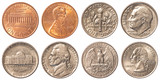 USA circulating coins