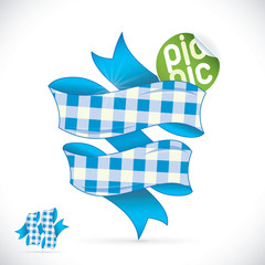 Picnic Sign Illustration, Sign, Symbol, Button, Badge, Icon