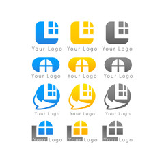 Business brand marks icon