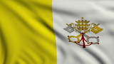 Flag of Vatican looping