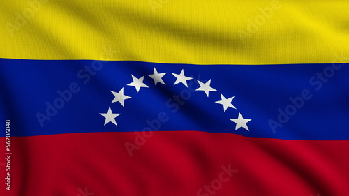Flag of Venezuela looping