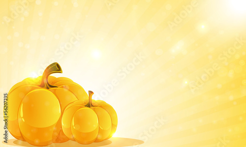 Pumpkins and shine