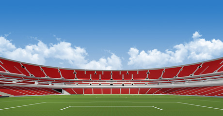 Sports background - stadium