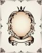 Decorative royal frame