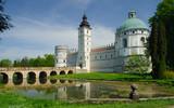 Krasiczyn castle in Eastern part of Poland poster