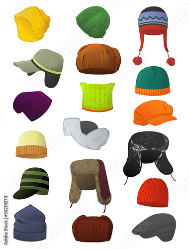 Male winter hats