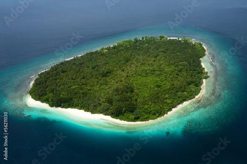 Fototapeten,insel,strand,maldives,riff