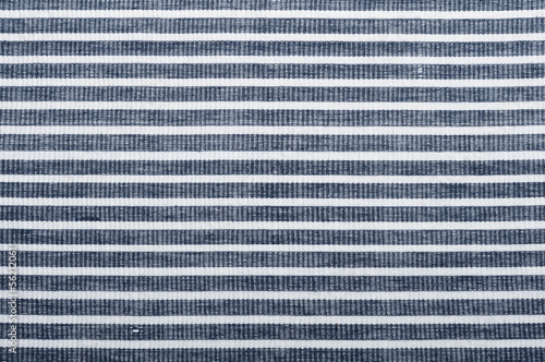 Leinwanddruck Bild striped fabric texture