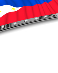 Designelement Flagge Phillipinen