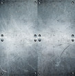 canvas print picture - Metal background
