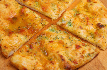 Garlic Pizza Bread