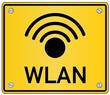 WLAN WiFi Schild  #130914-svg02