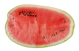 Sliced watermelon texture