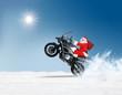 Leinwanddruck Bild - Neues Geschenk vom Santa